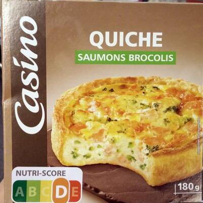 Quiche saumon bocolis (Casino)