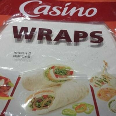Wraps - 6 galettes (Casino)