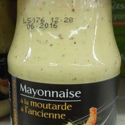 Mayonnaise à la moutarde à l'ancienne (Casino délices)