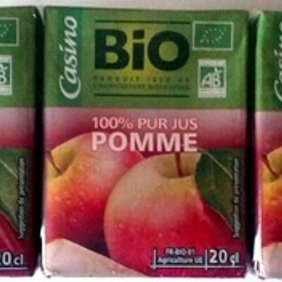 100% pur jus de pomme (Casino)