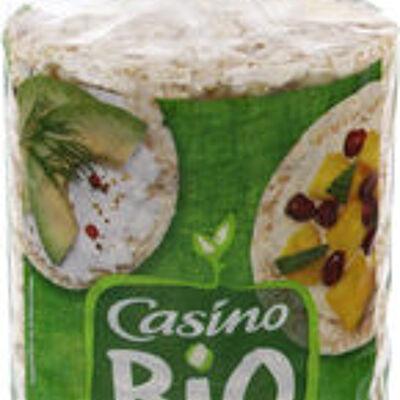 Galettes riz quinoa - fines (Casino bio)