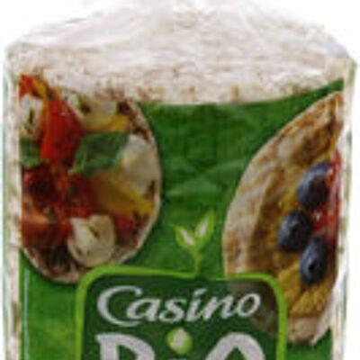 Galettes riz sarrasin - fines (Casino bio)
