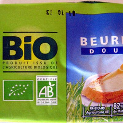 Beurre doux bio (Casino)