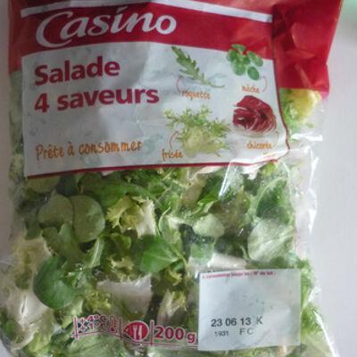 Salade 4 saveurs (4 portions) (Casino)