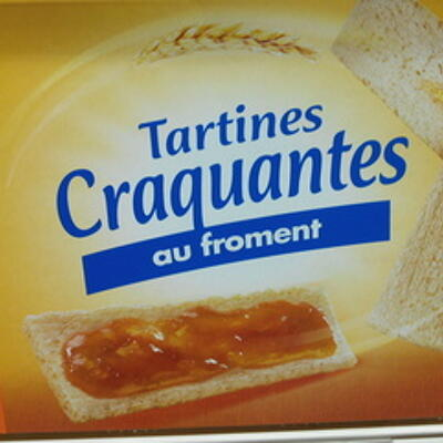 Tartines craquantes au froment (Casino)