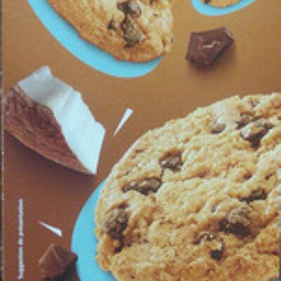 Cookies pépites de chocolat et noix de coco (Casino)