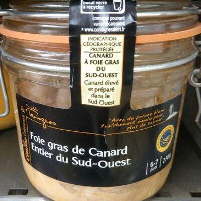 Foie gras de canard entier du sud-ouest (Casino délices)