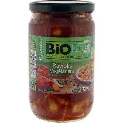 Ravioli végétariens bio (Casino bio)
