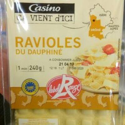 Ravioles du dauphiné igp label rouge (Casino ca vient d'ici)