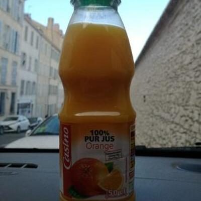 100% pur jus orange (Casino)