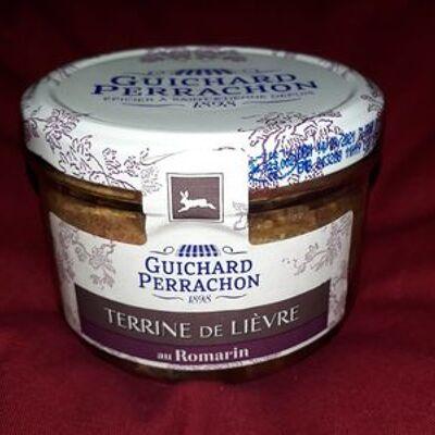 Terrine de lièvre au romarin (Guichard perrachon)