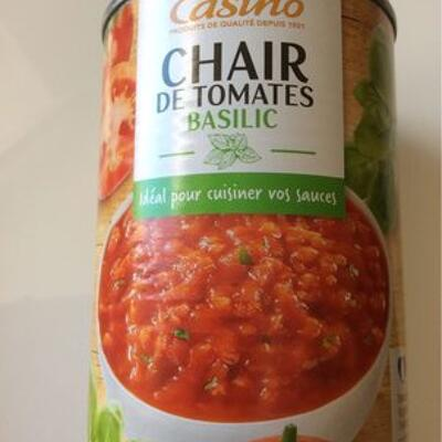 Chair de tomate basilic (Casino)