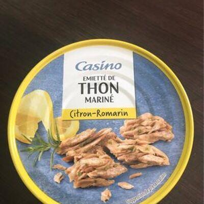 Emietté de thon mariné citron romarin (Casino)