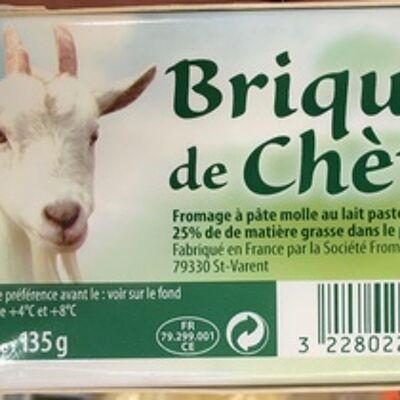 Brique de chèvre (25% mg) (Sans marque)
