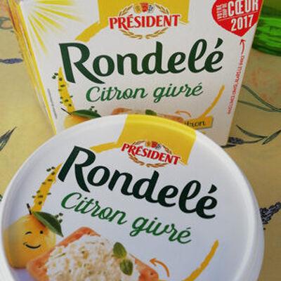Rondele citron givre (Président)