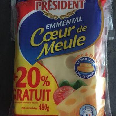 Emmental, 480 grammes, marque président (Président)