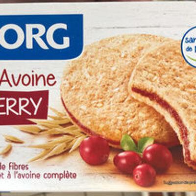 Fourrés avoine cranberry (Bjorg)