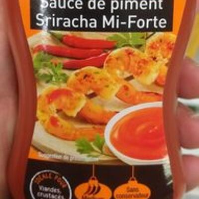 Sauce de piment sriracha mi-forte (Tien shan)