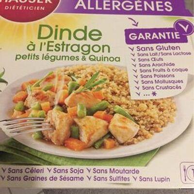 Dinde a l'estragon Petits légumes & quinoa (Gayelord hauser)