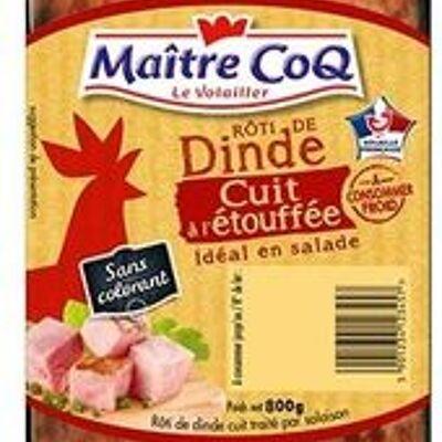 Rôti de dinde cuit à l'étouffée (Maître coq)