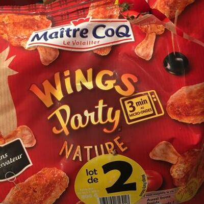 Wings party nature (Maitre coq)