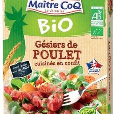 Gésiers de poulet cuisinés en confit bio (Maître coq)
