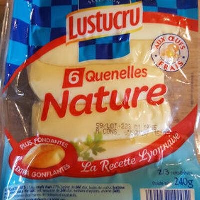 Quenelles nature (Lustucru)