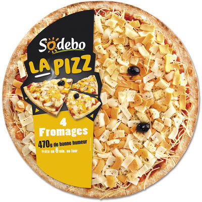 La pizz 4 fromages (Sodebo)
