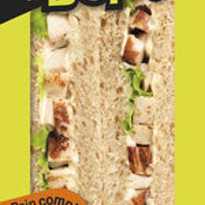 Sandwich simple & bon ! club - poulet rôti mayo légère (Sodebo)