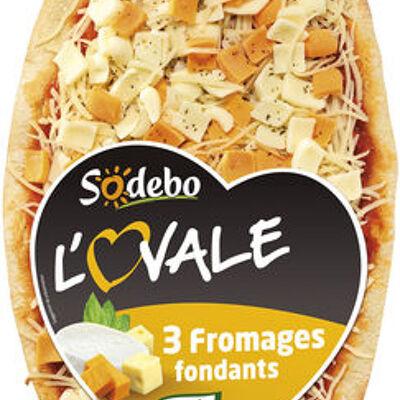 Sodebo l'ovale 3 fromages fondants (Sodebo)
