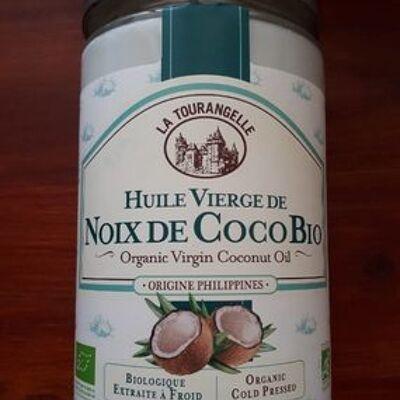 Huile vierge de noix de coco bio (La tourangelle)
