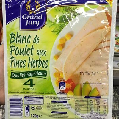 Blanc de poulet aux fines herbes (Grand jury)