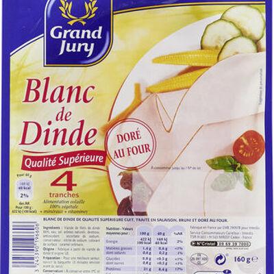 Blanc de dinde qualité supérieure (Grand jury)