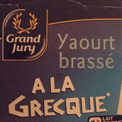Yaourt brassé à la grecque (Grand jury)