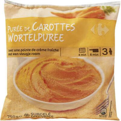 Purée de carottes (Carrefour)