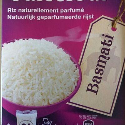 Riz naturellement parfumé basmati (Carrefour)