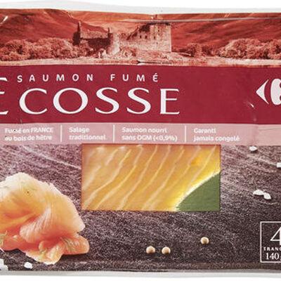 Saumon fumé ecosse (Carrefour)