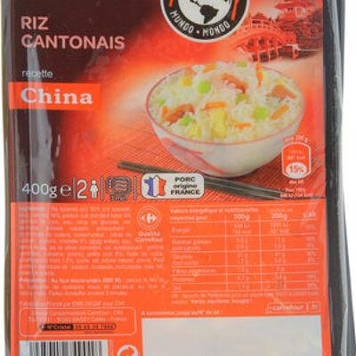 Riz cantonais (Carrefour)
