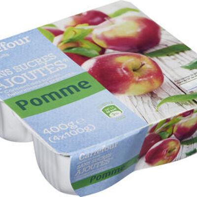 Pomme sans sucres ajoutés (Carrefour)