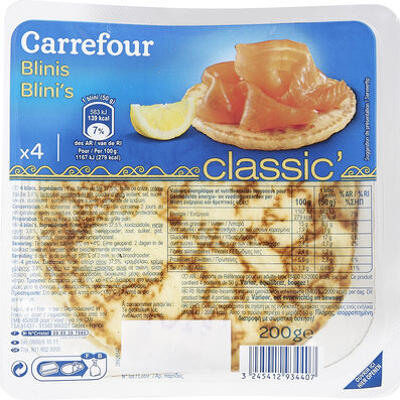 Blinis (Carrefour)