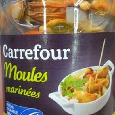 Moules marinées (Carrefour)