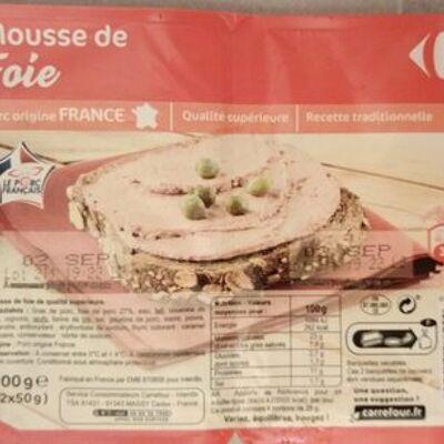 Mousse de foie (Carrefour)