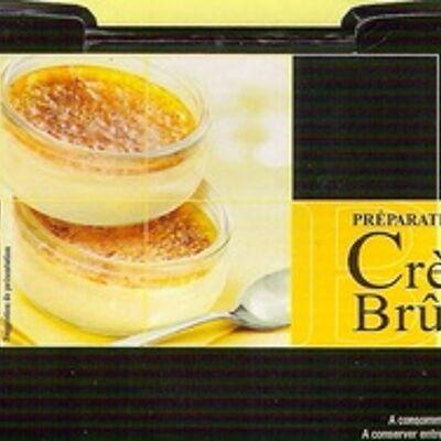 Préparation pour crème brûlée (Carrefour)