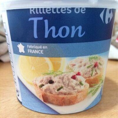 Rillettes de thon (Carrefour)
