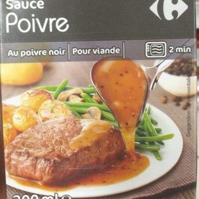 Sauce pour viande poivre - carrefour (Carrefour)
