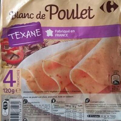 Blanc de poulet texane (Carrefour)