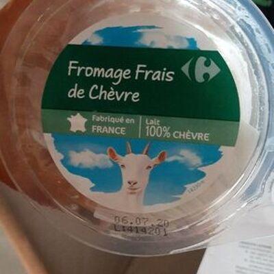 Fromage frais de chèvre (Carrefour)