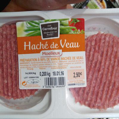 Haché de veau moelleux (Carrefour)