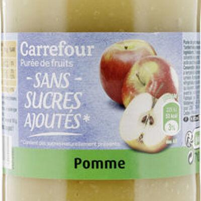 Purée de pommes (Carrefour)