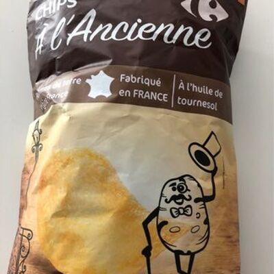 Chips, recette à l'ancienne (Carrefour)